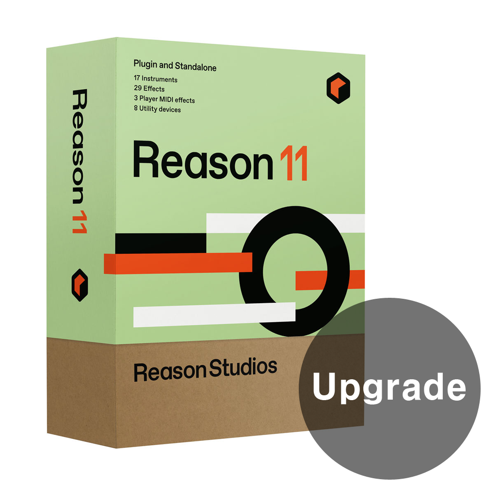 [Reason Studio] Reason 11 Upgrade