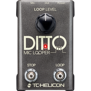 TC Helicon Ditto Mic Looper - 이펙터