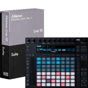 Ableton Push 2 + Live 10 Suite Bundle (다운로드 버전)